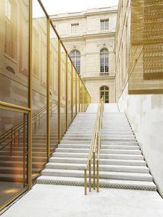 Refurbishment of the Pavilion Dufour Château De Versailles,© Andre Morin