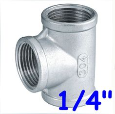 DP-iot 1-1//4 BSP Female Thread 304 Stainless Steel Pipe Fitting Hex Head Socket Plug End Cap for Water Oil Air