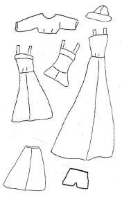 Free Barbie clothes patterns
