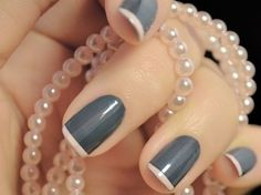 Nail art doesn't have to be complicated! Check out this gallery of simple yet gorgeous manicures!