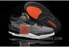 d3b805ab61b958 Find Nike Air Jordan 3 Mens Grey Black Orange Shoes New online or in  Footlocker. Shop Top Brands and the latest styles Nike Air Jordan 3 Mens  Grey Black ...