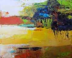 Buy The end of Summer, Oil painting by Simon Tünde on Artfinder. Discover…