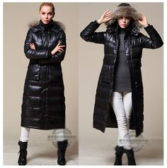 Womens Full Length Down Coats | Down Coat