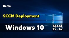Windows 10 OSD Deployment SCCM Walk through Demo Deployment was performed on a Hyper-V Windows Server 2016 and the OS deployed in approx. Fast Browser, Windows 10 Operating System, Windows Server, Microsoft