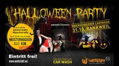Halloween Party Oberscheider Car Wash Werkstatt Rankweil Rocker, Car Wash, Halloween Party, Comic Books, Comics, Movie Posters, Workshop, Film Poster, Comic Book