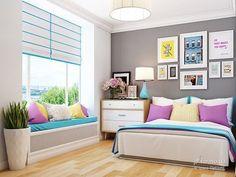 decorar-una-habitacion-pequena (9) | Curso de organizacion de hogar aprenda a ser organizado en poco tiempo