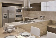 móveis para cozinha modernas em L - Buscar con Google