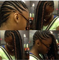 Cornrows n twists