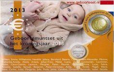 Geboorteset Kroningsjaar 2013