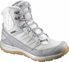 Light and comfortable for walking in winter's wake, KAINA MID GTX® provides waterproof warmth from GORE-TEX® insulated protection. Winter Shoes For Women, Gore Tex, Partner, Hiking Boots, High Top Sneakers, Walking, My Style, Fashion, Self