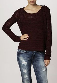 ONLY - GEENA - Strickpullover - tawny port