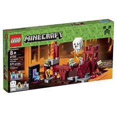 LEGO Minecraft 21122 the Nether Fortress Building Kit | shopswell