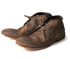Cruise Taupe (£125.00) - This mens suede chukka boot Cruise has become a Hudson classic. With leather trim and laces these boots are ready f...