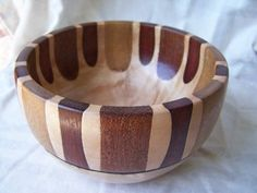 Slightly Segmented bowls --Two of them