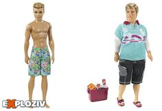 Nové bábiky Barbie inšpirovali ľudí, aby požadovali Kena statkovským telom.        Barbie sa tento rok dočkala revolučnej zmeny. Dostala tri druhy postavy a niekoľko odtieňov pleti. Rozhodnutie americkej spoločnosti Mattel prijali ľudia s pozitív...