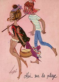 Les Parisiennes du dessinateur Kiraz -