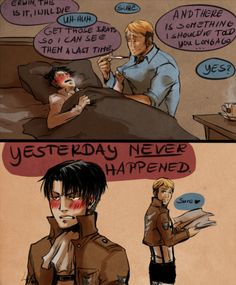 I don't ship them. Levi's just rough around the edges and doesn't like to admit his feelings to his family.;)
