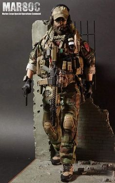 Military Action Figures, Custom Action Figures, Special Ops, Special Forces, Airsoft, Us Ranger, Philippine Army, Army Look, Modern Toys