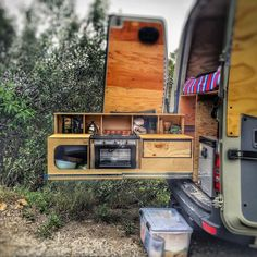 RV And Camping. 4 Things To Remember When You Go RV Camping. Photo by joestump Going RV camping is always a fun activity for the whole family. Spending time under the sun, exploring nature, playing in the lake, and j Sprinter Van Conversion, Camper Van Conversion Diy, Van Conversion Paneling, Mercedes Sprinter Camper Conversion, Van Conversion Layout, Motorhome Conversions, Camping Car Van, Camping Gear, Airstream Camping