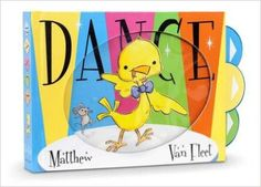 """March 27-31. Join us for Storytime all about """"Tapping Footsies"""" """"Dance"""" by Matthew Van Fleet"""