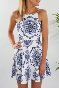 Athens Dress $59.00 Shop // http://www.jeanjail.com.au/athens-dress.html