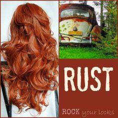 Rust Hair Colour Inspiration ♡ Rock your Locks