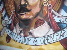 mural salón berlin (Palermo) bs. as....realizado por elmarian & pablokno