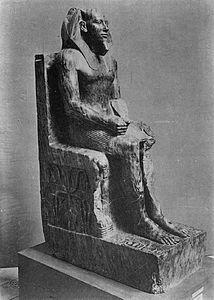 Chefren - Wikipedia Naha, Leiden, Mystery, Greek, Statue, Mainz, Greek Language, Greece, Sculptures