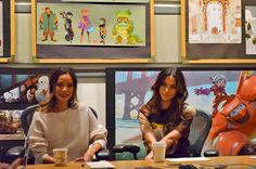 Big Hero 6 interview with Jamie Chung (voice of Go Go Tamago) and Genesis Rodriguez (voice of Honey Lemon)