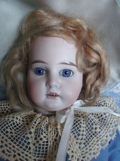 Lovely bisque doll Armand Marseille 3200 kid body