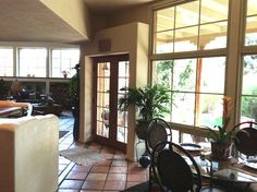 French doors leading to outdoor patio