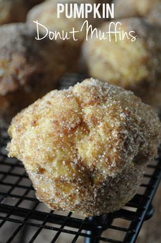 Pumpkin Donut Muffins, www.mountainmamacooks.com