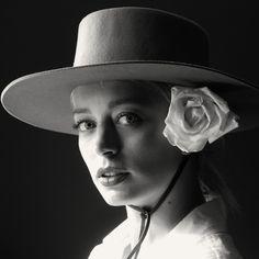 Caroline Vreeland shot by Michael Avedon wearing a custom #Brixton #Hat