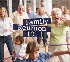 """Summer = family time. Need some tips for your family reunion plans? Here's """"Family Reunion 101"""" from our friends at Lds living magazine.   http://www.ldsliving.com/story/4912-family-reunions-101"""