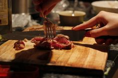 Oyster sauce steak