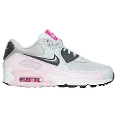new arrival 4a551 2c5bf Womens Nike Air Max 90 Essential Running Shoes - 616730 616730-112 Finish  Line