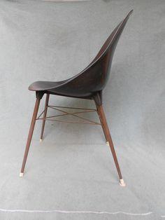 Retro Plastic SCOOP Chair