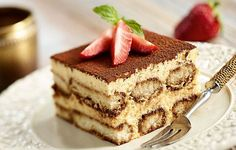 So glad to finally find tiramisu recipe that does not have raw egg - low fodmap and GF too 😄 Gluten Free Sweets, Gluten Free Baking, Gluten Free Recipes, Food Cakes, Fodmap Baking, Cake Recipes, Dessert Recipes, Dessert Bread, Fodmap Recipes