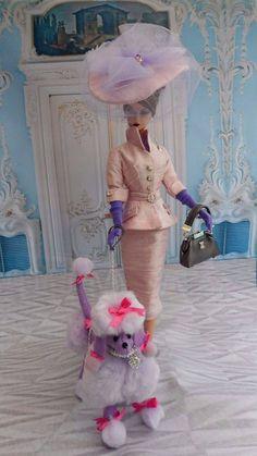 "OOAK Silkstone Vintage Barbie Handmade 12"" Fashion Royalty Poppy Parker / Mary   #Unbranded"