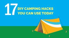 17 Functional DIY Camping Hacks to Make Your Outdoor Experience Less Expensive Today
