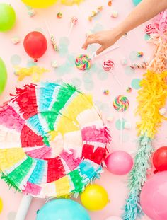 Lollipop Pinata Make