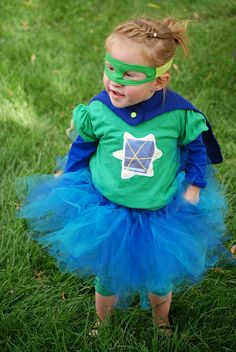 Girly Super Why costume!