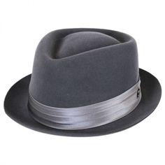Myers Wool Felt Diamond Crown Fedora Hat