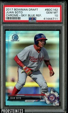 Just Nick Johnson Rookie Card Beckett Graded 9.5 Gem Mint!! Sports Trading Cards