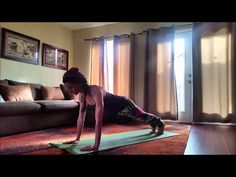 """Hello fellow Healthies!    I am proud to give you a break down of the ever popular and much praised Sun Salutation A.   This sequence is used throughout vinyasa flow practices everywhere. Vinyasa flow is a """"type"""" of yoga that focuses on flowing the asanas (poses) one into another with fluid motion.    *Remember that Breathe follows Movement, so breath IN as your body expands and stretches, and OUT as your body contracts into the next flowed movement."""