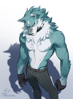 """""""I swear this started as his human form but I couldn't get the face right not a furry not a furry not a furry I find this anthro wolf character hot, haha April Fools! no I don't, that's crazy! Furry Art, Male Furry, Furry Wolf, Wolf Character, Character Design, Fantasy Characters, Anime Characters, Fictional Characters, Animation Movies"""