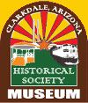 Logo of the Clarkdale Historical Society & Museum in Clarkdale, Arizona 2012.