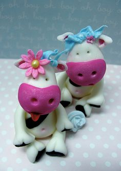 Two are trouble! by kylie lambert (Le Cupcake), via Flickr