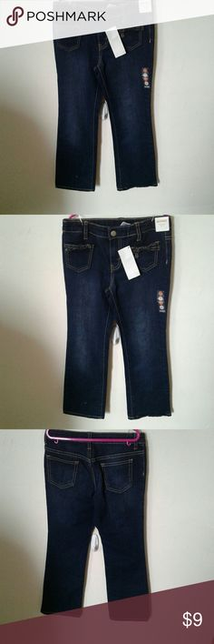 Gymbroee  girl Gymbroee  girl blue  jeans with adjustable waist control  Size:8 Comes from a smoke free home Gymboree Bottoms Jeans