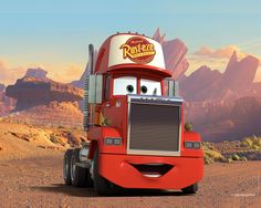 pixar cars mack - Google Search